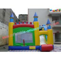 Quality Commercial Grade PVC Inflatable Bouncer Slide , Kids 4 In 1 Bounce House wholesale