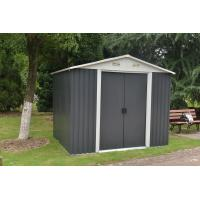 Quality Hinged Door Steel Garden Sheds , Metal Storage Sheds Maintenance Free wholesale
