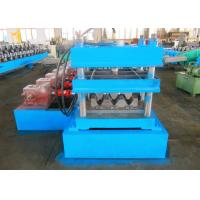 Quality Thrie - Beam Profile Highway Guardrail Roll Forming Machine , Crash Barrier Roll Former wholesale
