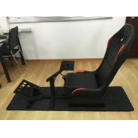 Quality Customized Foldable Sport Racing Seats For Video Games PVC Material wholesale