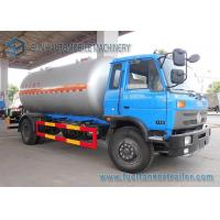 Quality 12000L Lpg Tanker Truck  / Lpg Gas Tanker Truck 1mm Rust Thickness For Lpg Cylinder wholesale