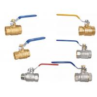 Cheap Brass full port  ball valves for sale