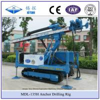 Quality MDL-135H High Hoist Rig Anchor Drilling Rig Crawler Mounted Multifunctional wholesale