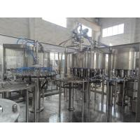 China Juice Processing Plant Beverage Filling Equipment With PLC Automatic Control on sale