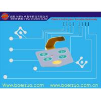 Buy cheap Metal Dome Flat Push Button LED Membrane Switch IP67 With Short Tail product