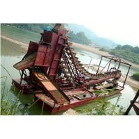 Quality small-scale chain bucket gold dredging boat wholesale