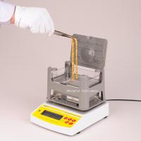 Quality Digital Electronic Archimedes Gold Tester Machine , Densimeter for Gold , Gold Purity Densitometer wholesale