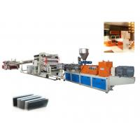 Quality Twin Screw PVC Foam Sheet Extrusion line /  Foam Making Machine For Advertising Material wholesale