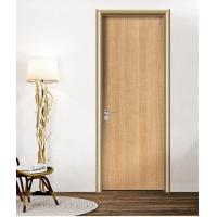 Quality Aluminum Frame Melamine HPL Flat Panel hollow Door for house sale wholesale