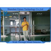 Quality Adjusted 999 Sensitivity Walk Through Metal Detector Rental With Lcd Screen wholesale