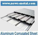 Buy cheap Aluminum Corrugated Sheet from wholesalers