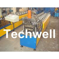 Quality 10 Station Metal U Runner Roll Forming Machine For Light Steel Stud / Track wholesale