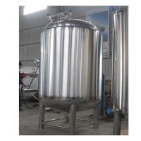 Quality Semi-Automatic Stainless Steel Hot Water Storage Tanks 2MM Thickness wholesale