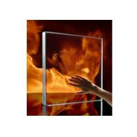 Quality 10mm Safety Tempered / Insulated Fire Rated Glass For Glass Curtain Walls wholesale