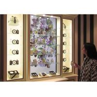China Customized Interactive Showcase Interactive Display Case For Shopping And Museum on sale