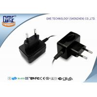 Quality GME EU 12V 500mA switching wall plug power supply  with CE ROHS  CB GS certificates wholesale