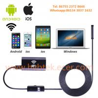 Cheap Soft Tube 1/1.5/2/3.5/5m 720P Waterproof Borescope WiFi USB Endoscopes for Android/IOS/Windows PC for sale