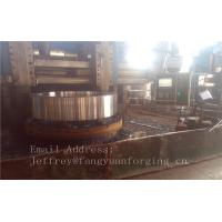Quality 4140 42CrMo4 Rolled Forged Steel Rings Q+T High Hardness For Concrete Mixer Truck wholesale