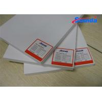 Quality Sign Display PVC High Density Foam Board with 0.19% WaterAbsorption Fire Retardant wholesale