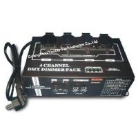 China 4 Channels DMX Dimmer Pack / Professional LED Stage Lighting Dimmer Packs on sale