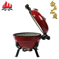 China 12inch portable outdoor kitchen ceramic kamado barbecue grill on sale