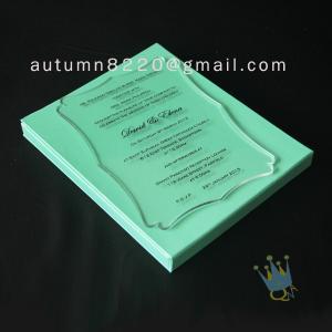 Quality attractive special design invitation wholesale