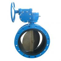 China Flanged EPDM/PTFE Lined Butterfly Valve on sale
