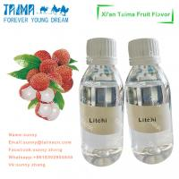 Quality Concentrate fruit flavoring tobacco/mint aroma liquid food grade Litchi flavor for E-liquid wholesale