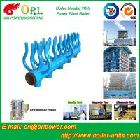 Quality Power Station Boiler Header Manifolds Oil Fired Boiler Unit TUV Certification wholesale