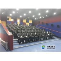 Quality Fast Return 5D Theater With Genuine Leather Electric 5D Seats In Business Center wholesale