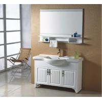 Quality 3 doors Traditional Bathroom Vanities furniture style Silver Mirror with Plywood Mirror Shelf wholesale