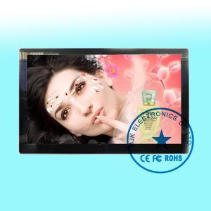 China Ultra Slim Digital Signage Wall Mount LCD Display Monitor high Brightness on sale