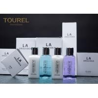 Quality Disposable Hotel Bath Amenities Set / Tinted Finishing Hotel Guest Toiletries wholesale