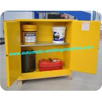Quality Acid Corrosive Fire Resistant File Cabinet Safety Yellow For Filing Data wholesale