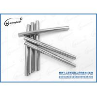 Quality Hip Sintered Tungsten Rod Stock / Petroleum Mining Solid Carbide Rods wholesale