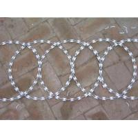 Cheap High security Razor Barbed Wire (stainless steel core with galvanize coated--hot for sale