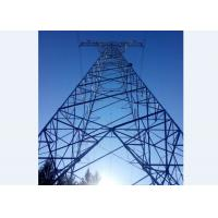 China 220KV Power Transmission Line Tower Customized Load And Wind Speed on sale