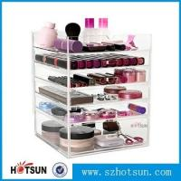 Quality Acrylic cosmetic makeup organizer/ makeup brush display/ makeup brush holder,Fashion acrylic Design Makeup Organizer wholesale