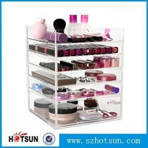 Quality Acrylic cosmetic makeup organizer/ makeup brush display/ makeup brush holder,Fashion acrylic Design Makeup Organizer wholesale
