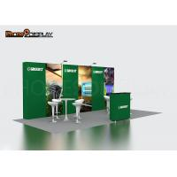 China 3x3 Fabric Printing Pop Up Exhibit Booth Straight Display Wall CE Approved on sale