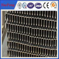 Quality industrial aluminium profile price per tons, 6063 china profiles aluminum extrusion wholesale