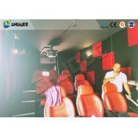Quality Motion Seat In XD Theatre With Cinema Simulator System / Special Effect Machine wholesale
