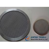 Quality Round Shape Filter Disc, Mainly With Stainless Steel Mesh, 10mm-1.2m Size wholesale