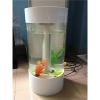 Quality Popular Custom Acrylic Fish Tank With Led Light And Perfect Transparency wholesale
