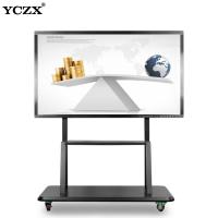 China 1920*1080 2K All In One PC Board 70 Inch LED OPS Infrared Touch Screen Interactive Smart Whiteboard For Education Kids on sale