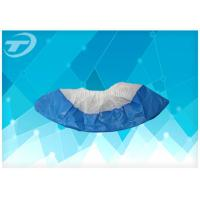 Cheap Water Resistant Disposable Shoe Covers / Disposable Foot Covers For Hospital for sale