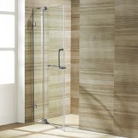 Quality Wholesale Custom Stainless Steel Sliding Glass Free Standing Shower Enclosure wholesale