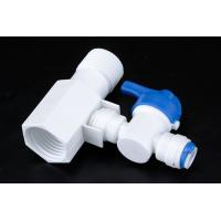 Quality Quick Connect Tee RO Water Treatment System Two Way Sliptter And Inlet Valve wholesale