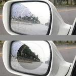 Quality Clear Anti Fog Mirror FilmRoll , Hydrophobic Mirror Cling Window Film wholesale