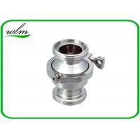 Quality High Performance Sanitary Check Valve , Stainless Check Valve DN25-DN100 wholesale